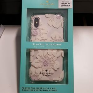 """Case kate spade for iphone x/xs 5.8"""" white-clear"""